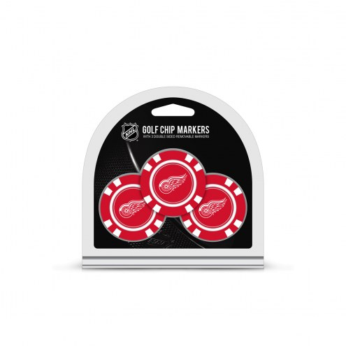 Detroit Red Wings Golf Chip Ball Markers