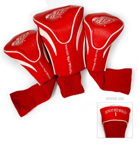Detroit Red Wings Golf Headcovers - 3 Pack