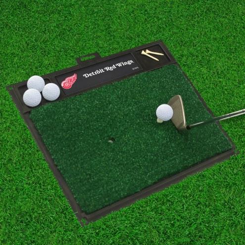 Detroit Red Wings Golf Hitting Mat