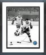 Detroit Red Wings Gordie Howe 1964-65 Action Framed Photo