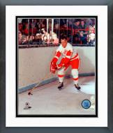 Detroit Red Wings Gordie Howe Skating Framed Photo
