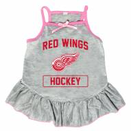 Detroit Red Wings Gray Dog Dress