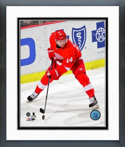 Detroit Red Wings Gustav Nyquist Action Framed Photo