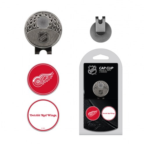 Detroit Red Wings Hat Clip & Marker Set