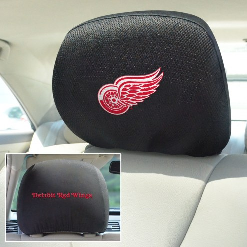 Detroit Red Wings Headrest Covers