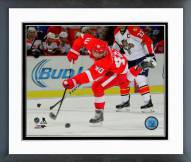 Detroit Red Wings Henrik Zetterberg Action Framed Photo
