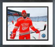 Detroit Red Wings Henrik Zetterberg NHL Winter Classic Action Framed Photo