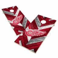 Detroit Red Wings Herringbone Cornhole Game Set