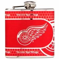 Detroit Red Wings Hi-Def Stainless Steel Flask