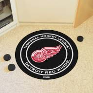 Detroit Red Wings Hockey Puck Mat