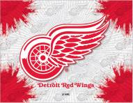 Detroit Red Wings Logo Canvas Print