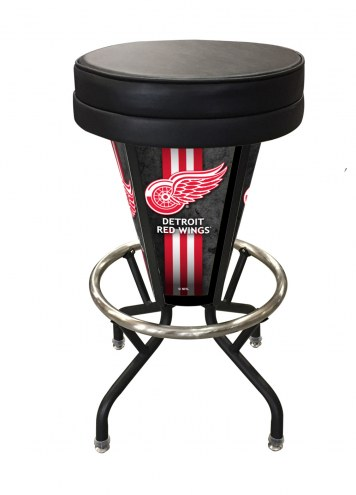 Detroit Red Wings Indoor Lighted Bar Stool