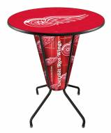 Detroit Red Wings Indoor Lighted Pub Table