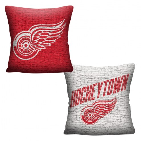 Detroit Red Wings Invert Woven Pillow