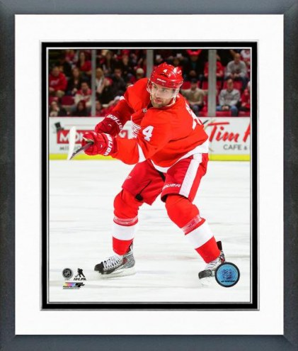 Detroit Red Wings Jakub Kindl Action Framed Photo