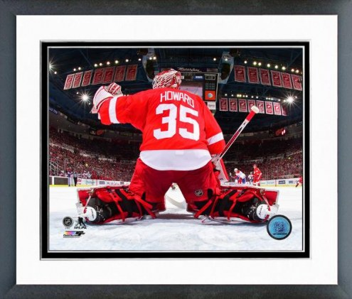 Detroit Red Wings Jimmy Howard Action Framed Photo