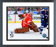 Detroit Red Wings Jimmy Howard NHL Winter Classic Action Framed Photo