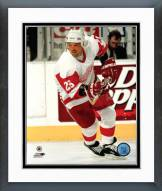 Detroit Red Wings Joe Kocur Action Framed Photo