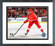 Detroit Red Wings Johan Franzen Action Framed Photo