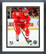 Detroit Red Wings Jonathan Ericsson Action Framed Photo