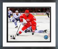 Detroit Red Wings Justin Abdelkader Action Framed Photo