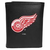 Detroit Red Wings Large Logo Leather Tri-fold Wallet