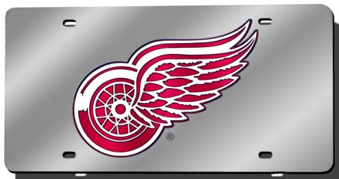 Detroit Red Wings Laser Cut License Plate