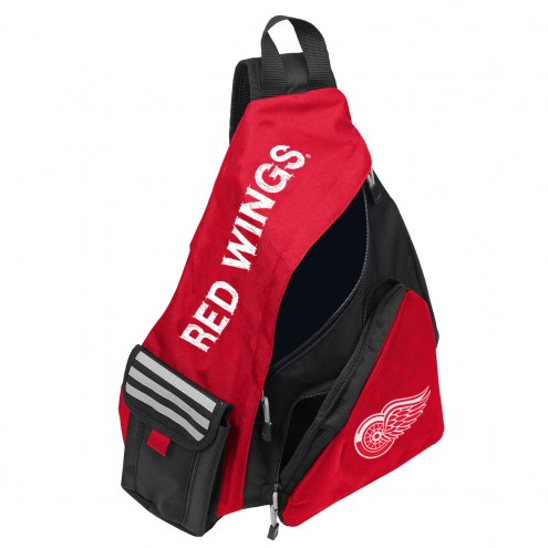 Detroit Red Wings Leadoff Sling Backpack