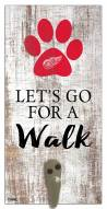 Detroit Red Wings Leash Holder Sign