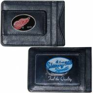 Detroit Red Wings Leather Cash & Cardholder