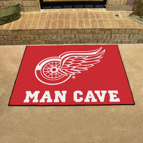 Detroit Red Wings Man Cave All-Star Rug