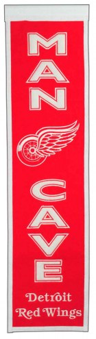 Detroit Red Wings Man Cave Banner