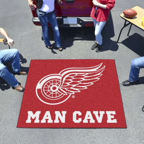 Detroit Red Wings Man Cave Tailgate Mat