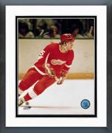 Detroit Red Wings Marcel Dionne Action Framed Photo