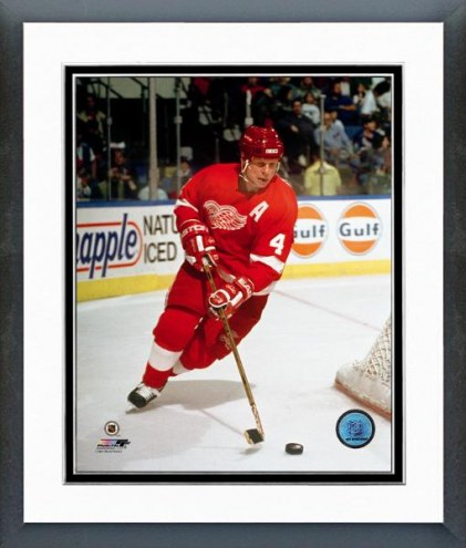 Detroit Red Wings Mark Howe Action Framed Photo