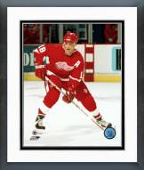 Detroit Red Wings Mike Krushelnyski Action Framed Photo