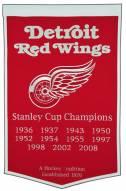 Winning Streak Detroit Red Wings NHL Dynasty Banner