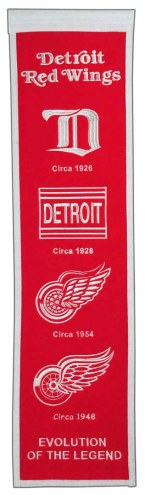 Detroit Red Wings NHL Heritage Banner