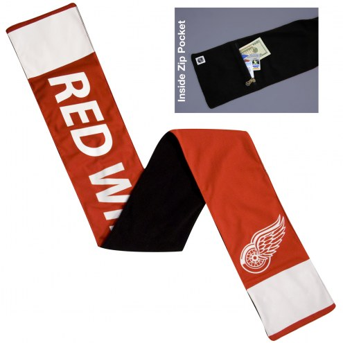 Detroit Red Wings NHL Jersey Scarf