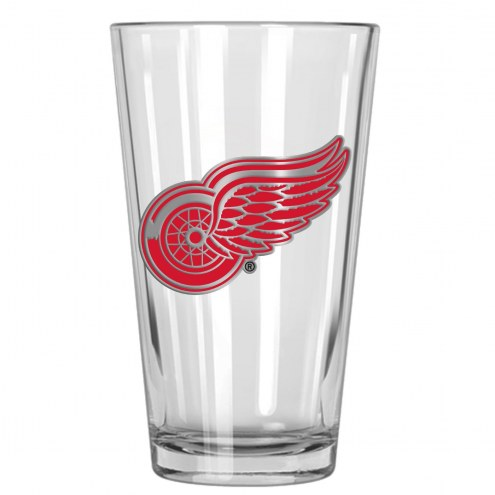 Detroit Red Wings NHL Pint Glass - Set of 2