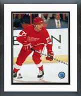 Detroit Red Wings Paul Coffey Action Framed Photo