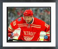 Detroit Red Wings Pavel Datsyuk Winter Classic Action Framed Photo