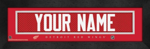 Detroit Red Wings Personalized Stitched Jersey Print