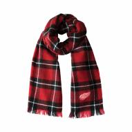 Detroit Red Wings Plaid Blanket Scarf