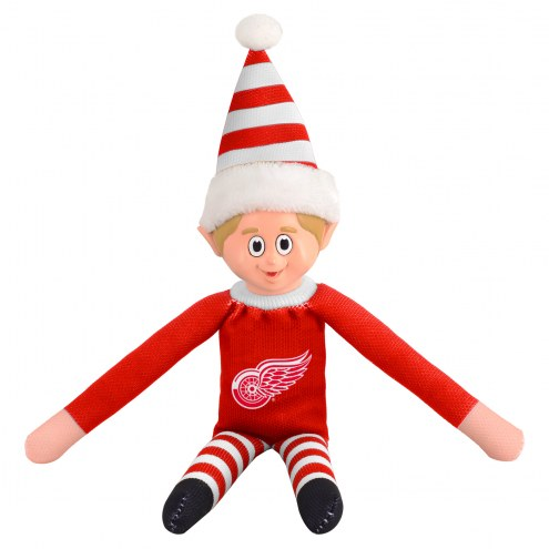 Detroit Red Wings Plush Elf