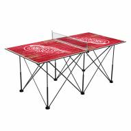 Detroit Red Wings Pop Up 6' Ping Pong Table