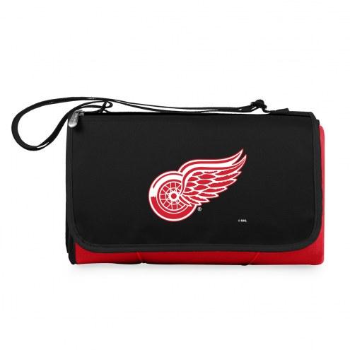 Detroit Red Wings Red Blanket Tote