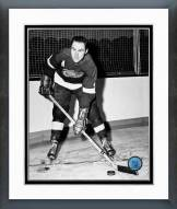 Detroit Red Wings Red Kelly Posed Framed Photo