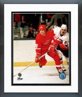 Detroit Red Wings Reed Larson Framed Photo