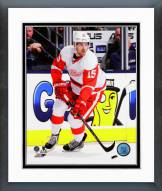 Detroit Red Wings Riley Sheahan Action Framed Photo